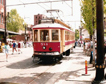 Gomaco Trolley in Portland